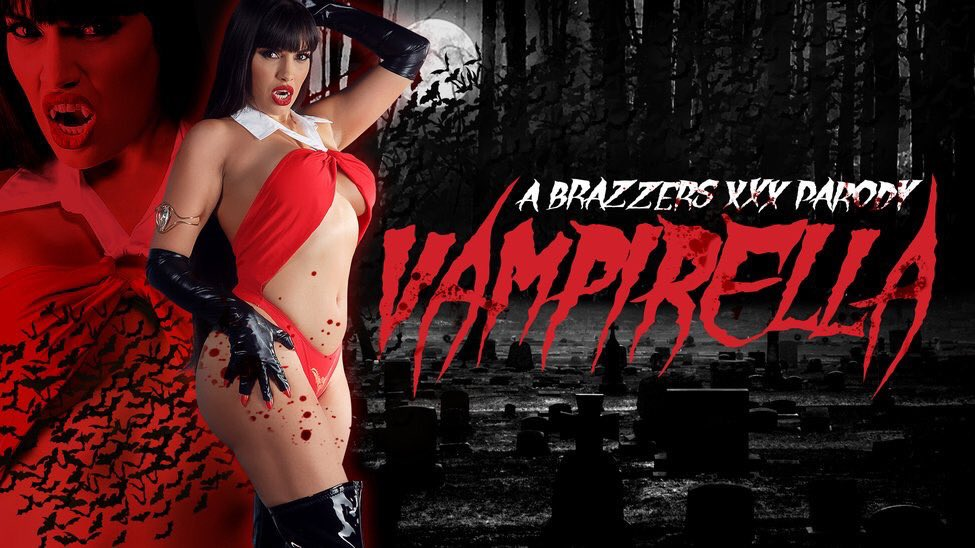 "1 pic. #Halloween & Me in ""Vampirella: A XXX Parody""(October 31). /"