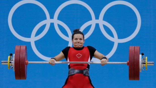 A Canadian weightlifter who won bronze in the 2012 Olympics could soon be upgraded to gold.