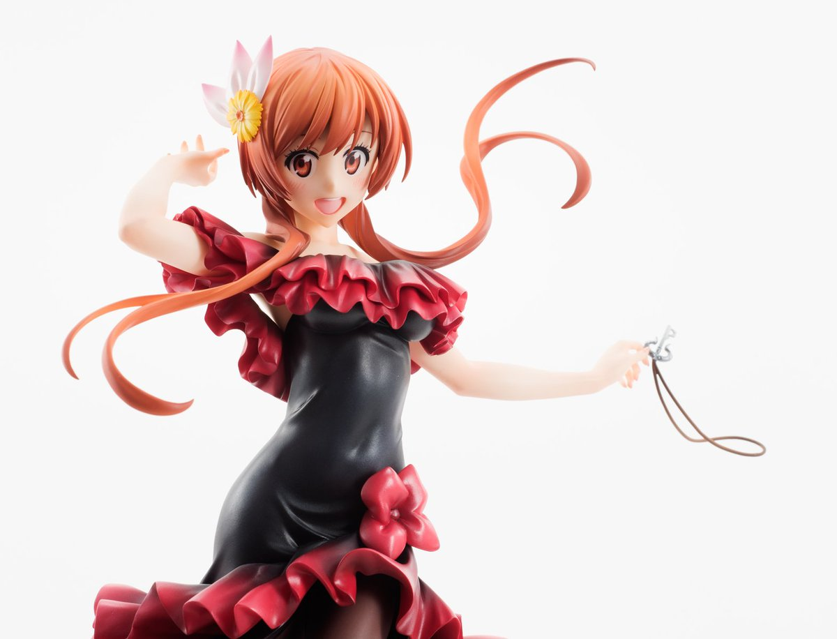 【11/7まで】TVアニメ「ニセコイ:」より情熱的なドレス姿の『橘 万里花』1/7スケールフィギュアが予約受付中!#アニ