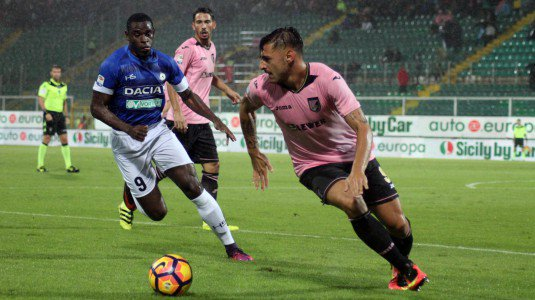 #PalermoUdinese