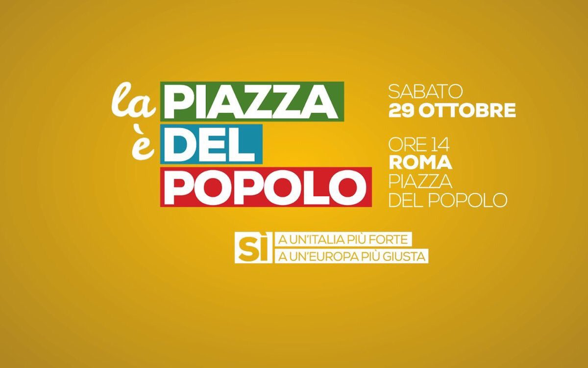 #PiazzadelPopolo