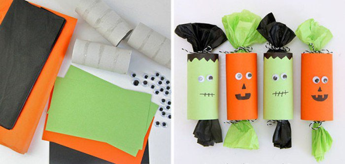 8 #Manualidades de #Halloween para guardar chuches y caramelos