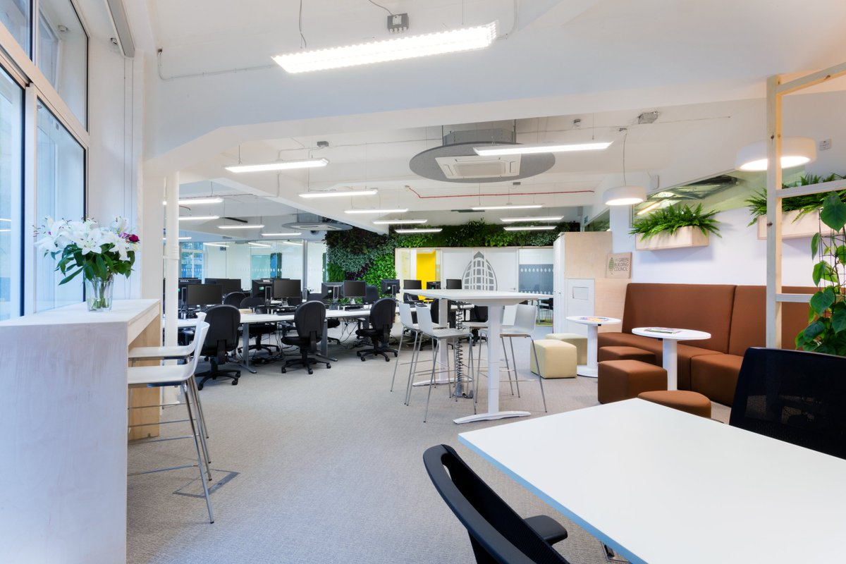 The newly refurbished @UKGBC HQ has set a low carbon record! https://t.co/CjlRwY7z8j #reuse #refurb #sustainability https://t.co/yMtHbRSb59
