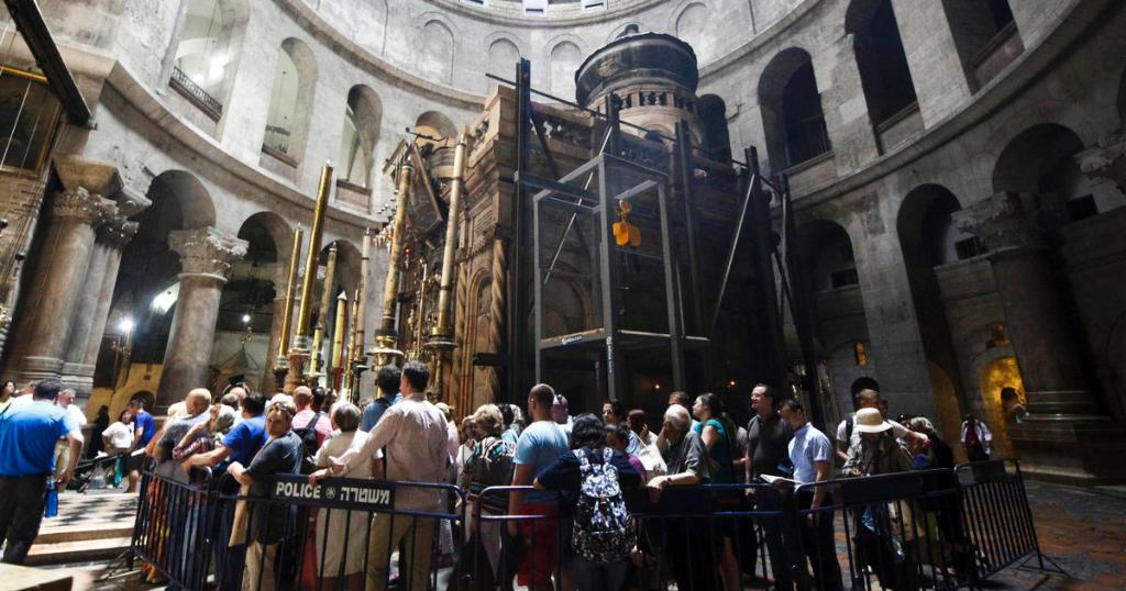 """What was found is astonishing,"" an archaeologist said at Jesus' tomb site"