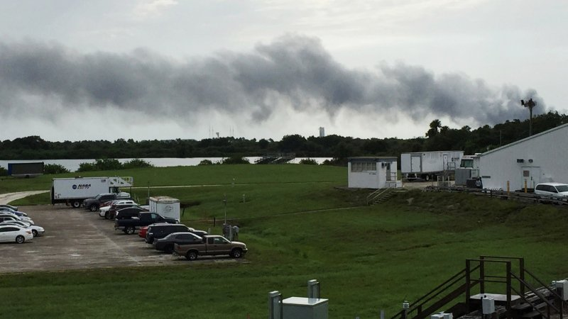 SpaceX closer to understanding unmanned Falcon rocket explosion at Cape Canaveral launch pad