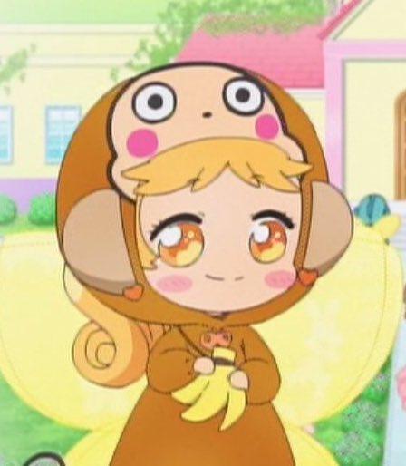 そしてテレビ東京にて10:00〜はリルリルフェアリル」だよ〜☺︎♪ 今日はハロウィンのお話! ひまわりはおさるのもんきちの仮装をしてるみたい♡ おさるの仮装なら、私もお正月にしたよ〜♪笑  見てねリル♪