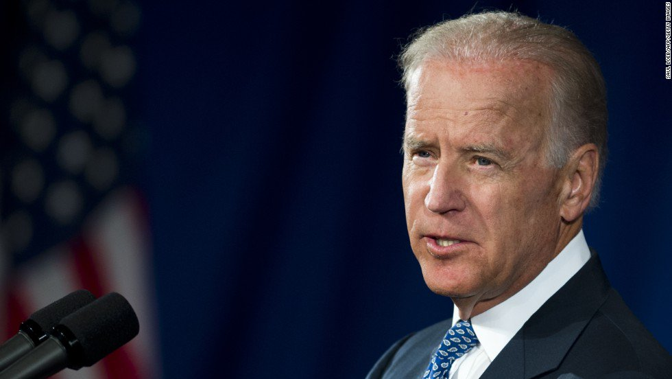 "Vice President Joe Biden says he is ""not a big fan"" of disgraced former Rep. Anthony Weiner"