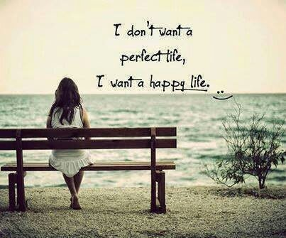 I don't want a perfect life, I just want a HAPPY Life! #lifestyle #selflove #inspiration #lifestyleblogger https://t.co/lzOuqUb0ya