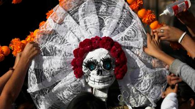 Movies, zombies and Halloween are changing Mexico's Day of the Dead