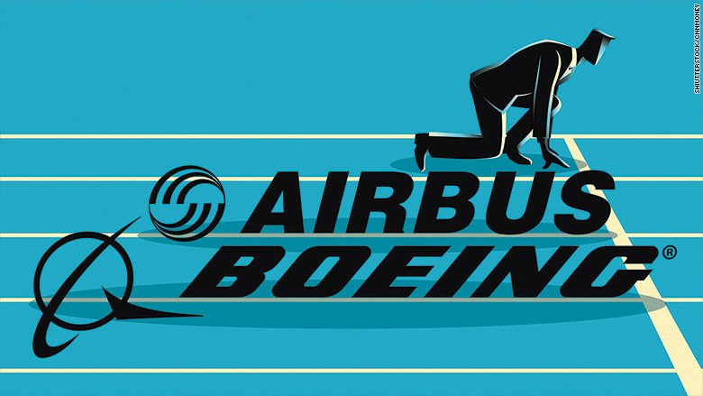 Airbus CEO vows to retake jet production crown from Boeing by 2020