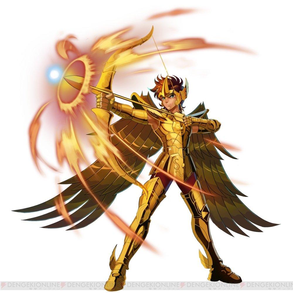 アクションRPG『聖闘士星矢GS』射手座のアイオロスを手に入るチャンス  #聖闘士星矢GS #ギャラスピ