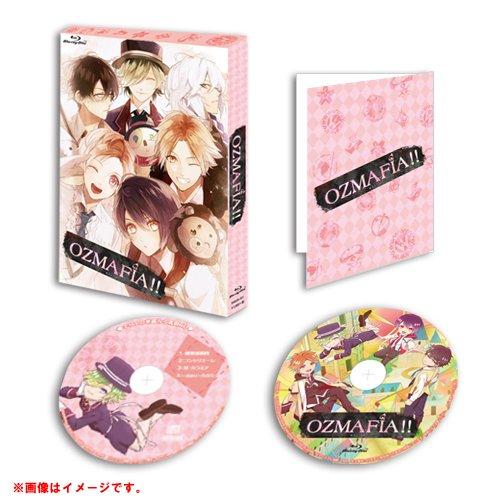 【OZMAFIA】TVアニメ『OZMAFIA!!』Blu-ray&DVD初回限定版 さとい・かきおろしパッケージ公開