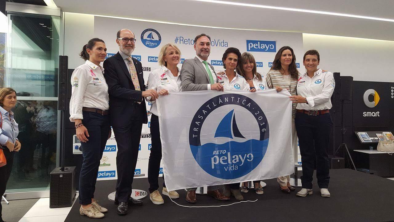 #RetoPelayoVida16 Empieza nueva aventura de 5 mujeres valientes y vencedoras #RetoTrasatlantica16 @RetoPelayoVida https://t.co/1BCe5F4hJK