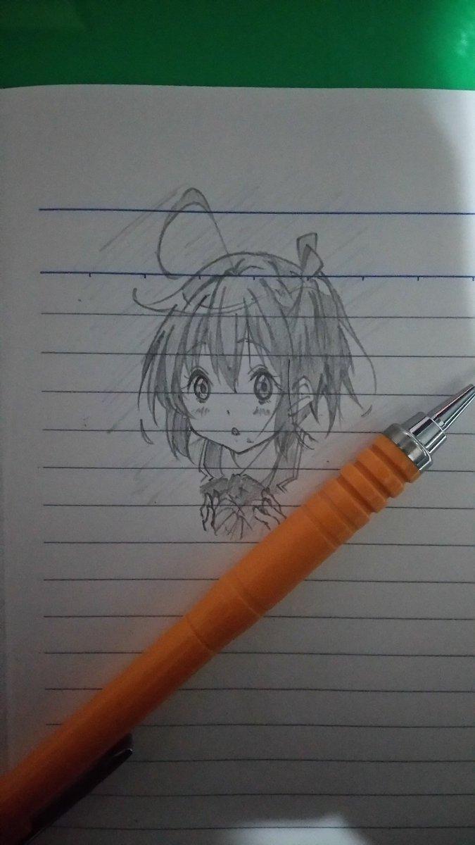 落描き~六花ヾ(*´∀`)💕💕#chu2koi