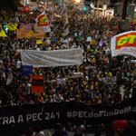 Brazilians Protest Against Government Spending Limit |  | Brazil News