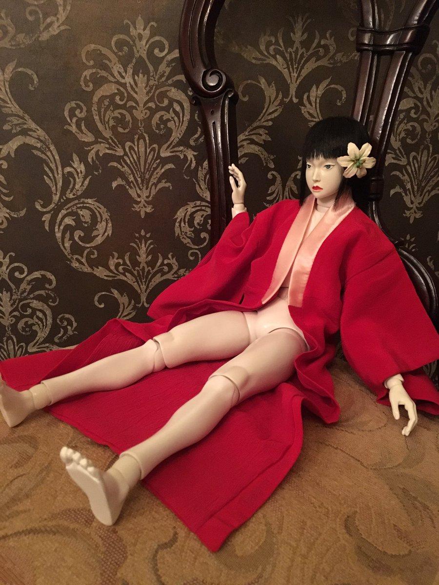 時を経て初めて買った球体関節人形がこちら。攻殻で吉田人形、竹谷監修、モデル名ハダリって盛りすぎぃ。40cmのど迫力で、知