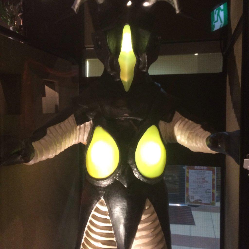 川崎の怪獣酒場。ウルトラマン全部見たくなりましたね。