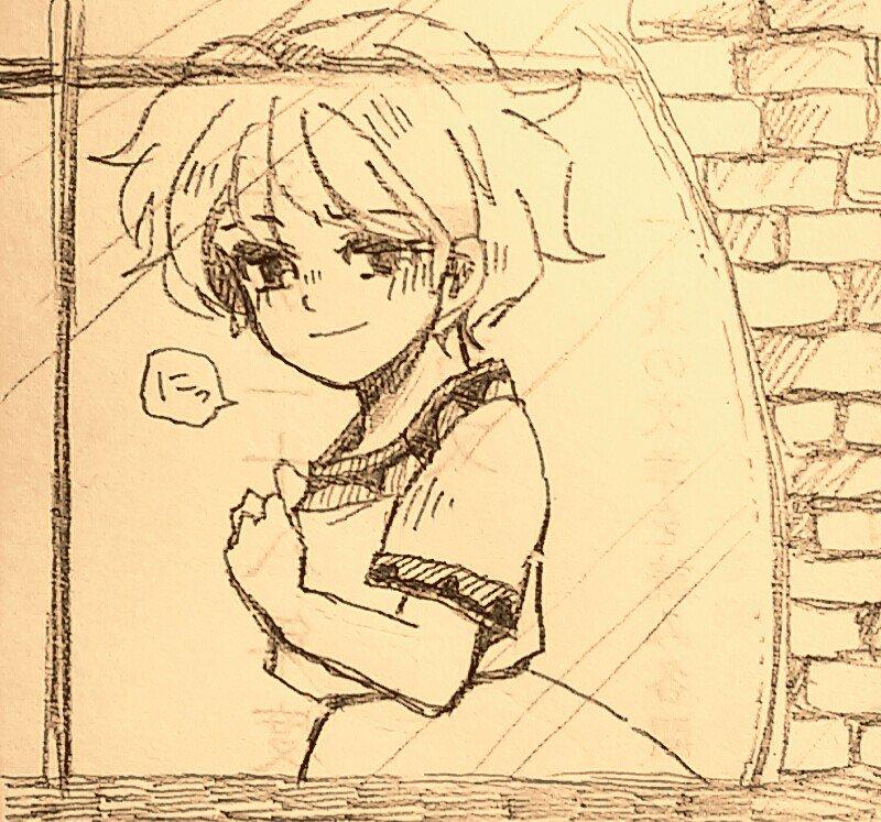 「明日もまた隠れんぼ、ね?」#山賊の娘ローニャ