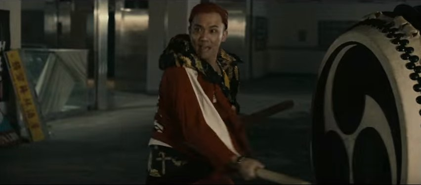 達磨一家のケンカ、和太鼓で協力攻撃してくるから実質ファンタジスタドールなんだけどね。