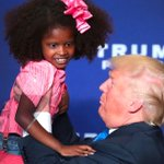 Donald Trump tries to kiss flinching little girl as internet looks on in horror. https://t.co/sfVldb431b https://t.co/9ffwdxdm6l