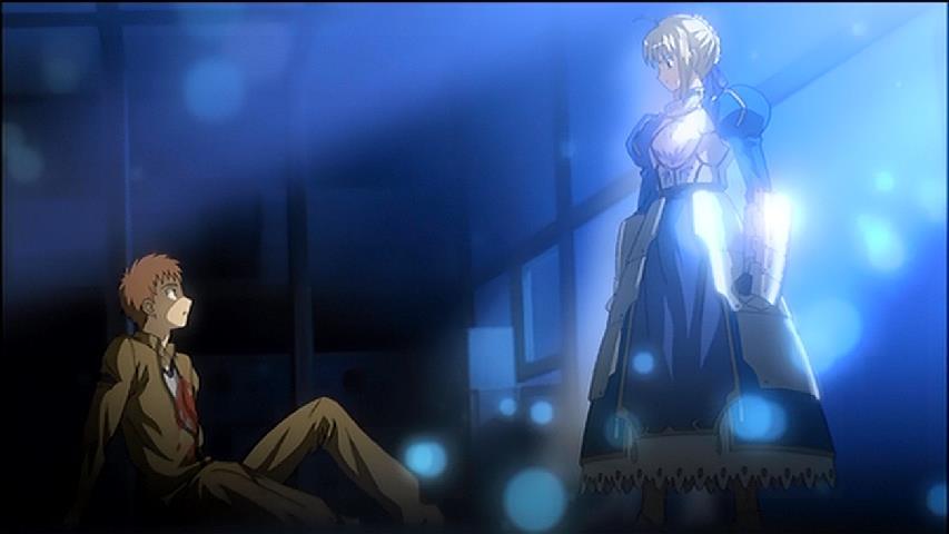 問おう。貴方が、私のマスターか #fate_sn_anime #うどんの国