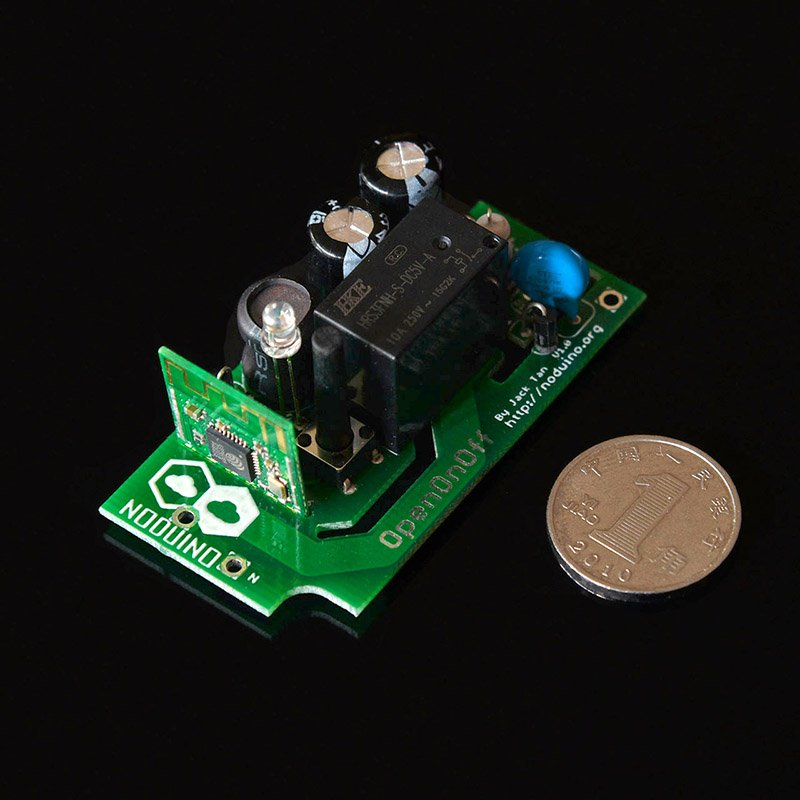 Noduino OpenOnoff --- a very small wifi relay box using a #ESP8285 module. Designed for home automation https://t.co/YbR9pfW7YJ