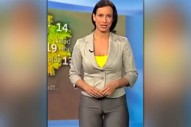 Itv weather babes tight-fitting trousers reveal