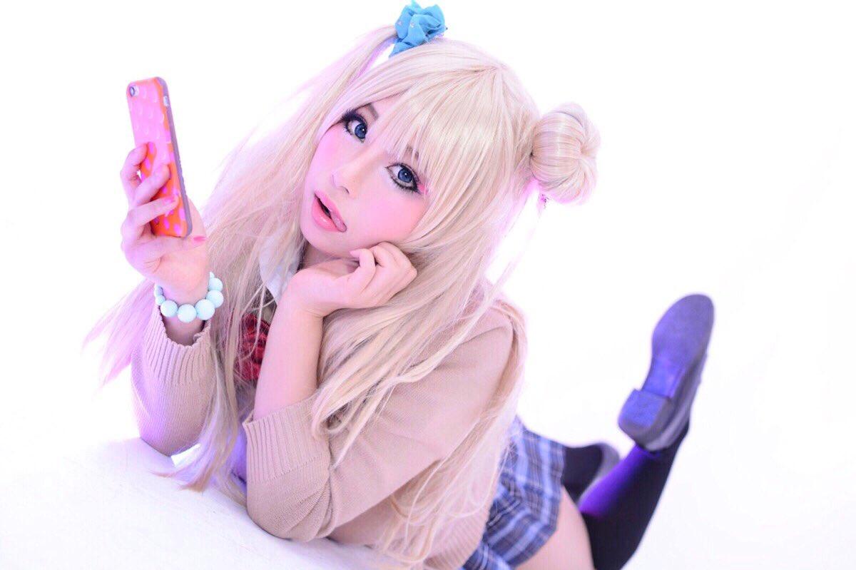 ギャル子ちゃん大好き♡撮影:おーがくん♡( )#ミニスカートの日#ギャル子ちゃん