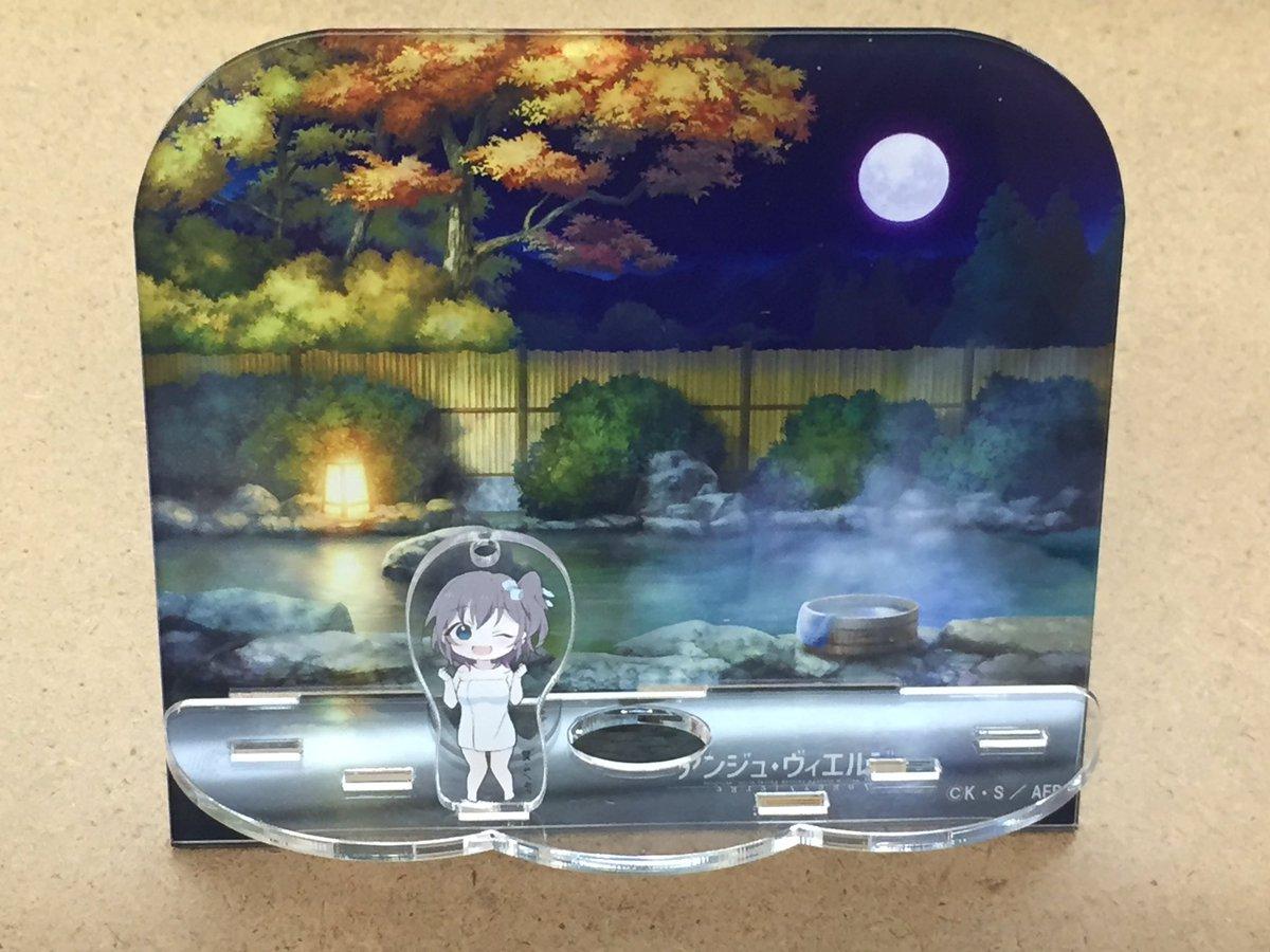 『アンジュ・ヴィエルジュ』のアクリルジオラマスタンドが販売中♪ジオラマには、天音のアクリルキーホルダーが付いてきます!先