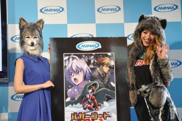 道端アンジェリカ、人狼コスプレで「ルガーコード1951」イベントに登場 オオカミ目線のVRに興奮