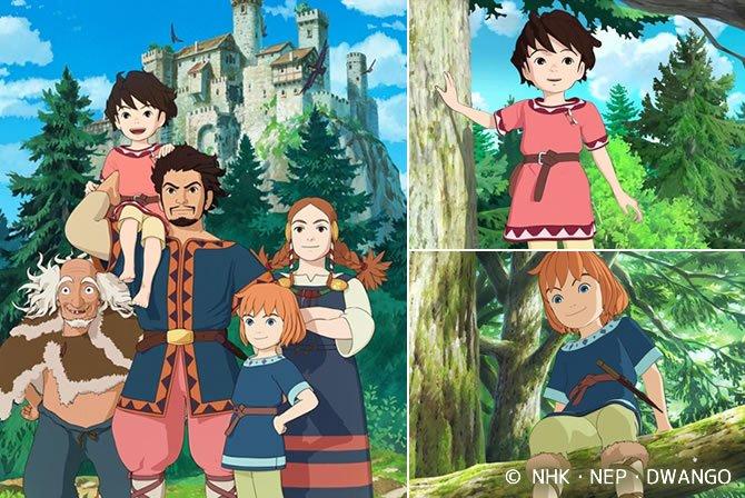 ◆宮崎吾朗監督の『山賊の娘ローニャ』が、英語吹き替え版となってAmazonで世界配信決定!
