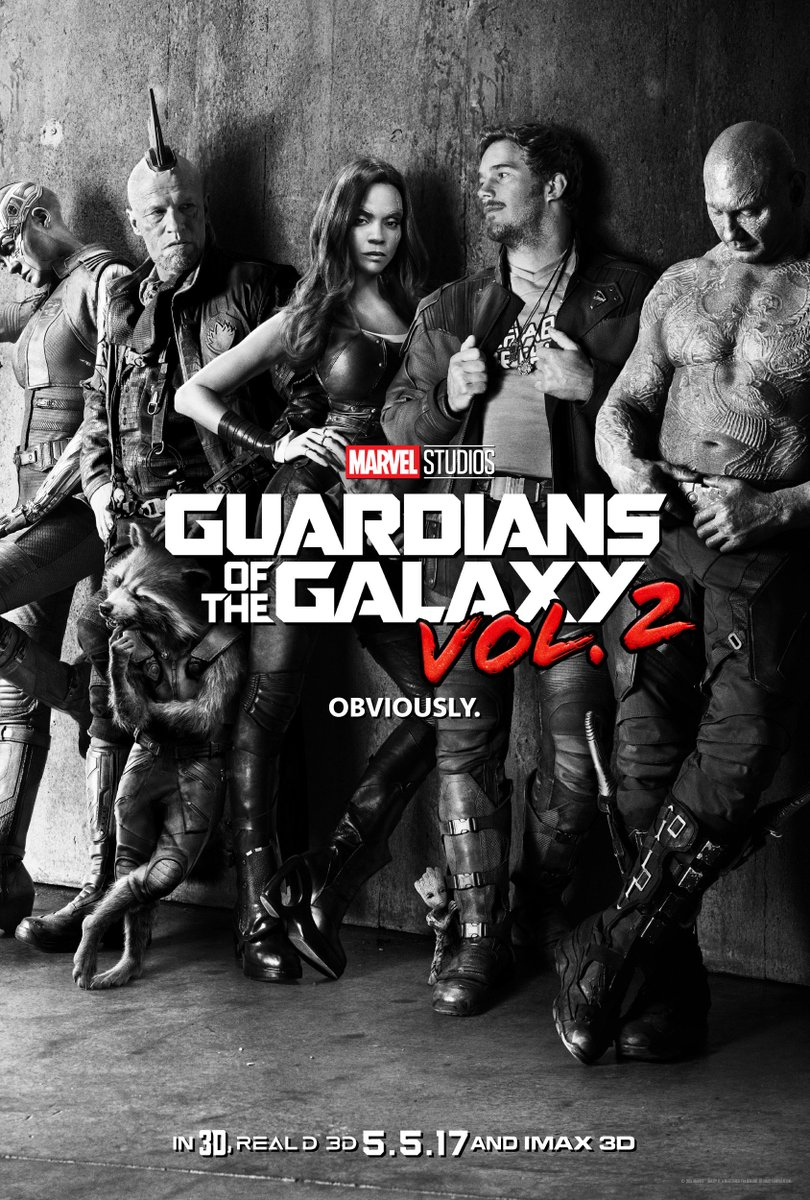 Behold, the first ever look at the Guardians of the Galaxy Vol. 2 teaser poster! #GotG #GotGVol2 https://t.co/hroxTDB7To