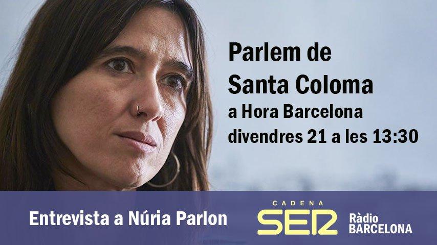 Avui, 13:30 a @HoraBarcelona parlem de Santa Coloma de Gramenet amb @nuriaparlon ►https://t.co/o4jbrfuW9m https://t.co/y8t2DJi5Em