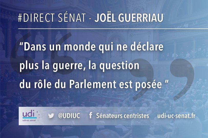 #DirectSenat @Joel_Guerriau s'exprime en ce moment dans le cadre du débat sur les #opex de la France.