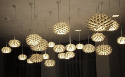 Interior inspiration - Palm lamps.#3dsculptor #3dprinting #interiordesign #lampshades https://t.co/9TLKsCR7B0