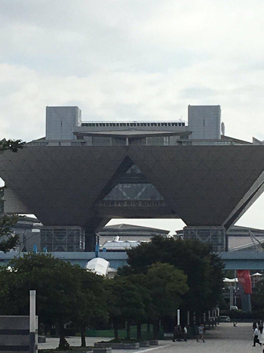 東京に事業所訪問とかいう訳の分からんものに行ってきたがまぁまぁ面白かった東京ビックサイト見れてよかったあとハッカドール
