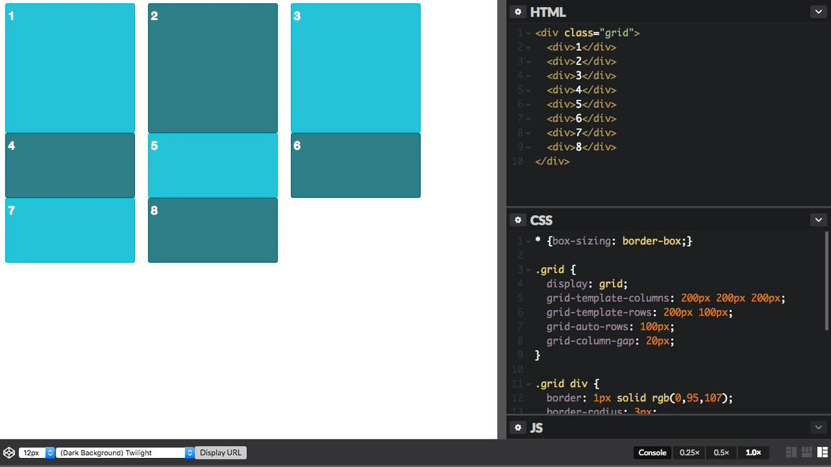Learn by watching! The Grid Layout video series by @rachelandrew: https://t.co/o0zMZaNyZ0 #css #layouts https://t.co/ZgRWmBdCDP