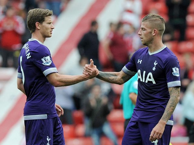 Image result for alderweireld vertonghen