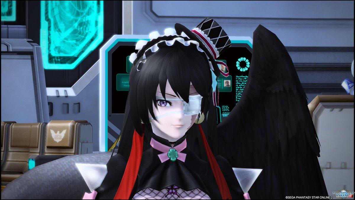 PSO2アニメ風瞳がお気に入り