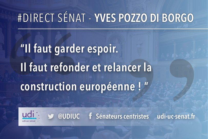 #DirectSenat @YvesPDB en ce moment dans l'hémicycle sur le débat préalable à la réunion du Conseil européen.