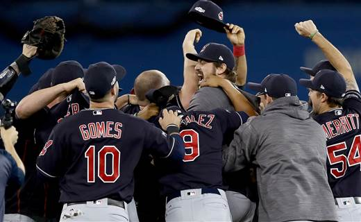 Cleveland Indians reach World Series for first time since 1997 via @NBCSports