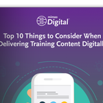 Mimeo: Top 10 Things to Consider When Delivering Training Content Digitally #learning #digital  … https://t.co/ubndkO0fOW