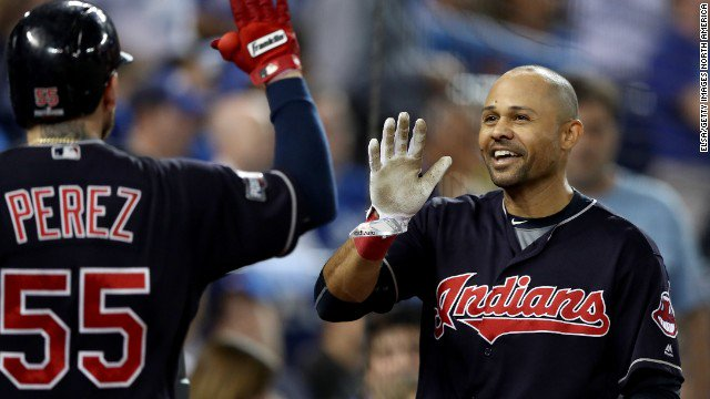 The Cleveland Indians advance to the World Series, defeating the Toronto Blue Jays 3-0