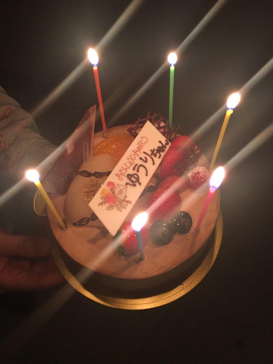 小屋入りの昨日、実は私はお誕生日で、ぽわわわわんの皆がサプライズでお祝いしてくれました…♡嬉しかった!本当にありがとうご
