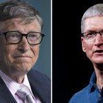 Bill Gates ou Tim Cook vice-président ? L'équipe Clinton y a pensé