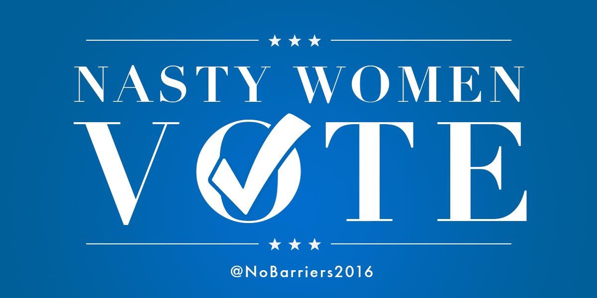 #NastyWomenVote, and they'll likely determine who wins the election. https://t.co/MlKGqon39W #debate https://t.co/GEpFQ8CZwX