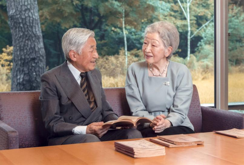 Japan empress 'shocked' at headlines of emperor's wish to abdicate
