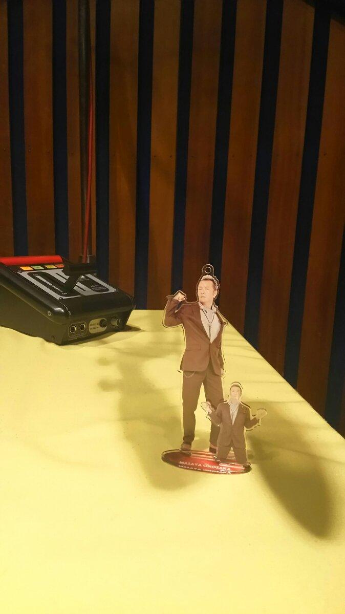 小野坂さん、「きいてますよ、アザゼルさん。G」の収録スタジオに現る!!…というような、小野坂昌也さんのアクリルフィギュア