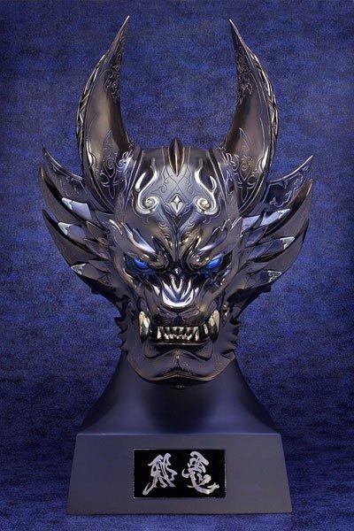 【予約受付中‼︎】牙狼〈GARO〉ジャアク ヘッドモデル1/1スケール撮影用プロップから邪悪のマスクをメッキ加工でディス