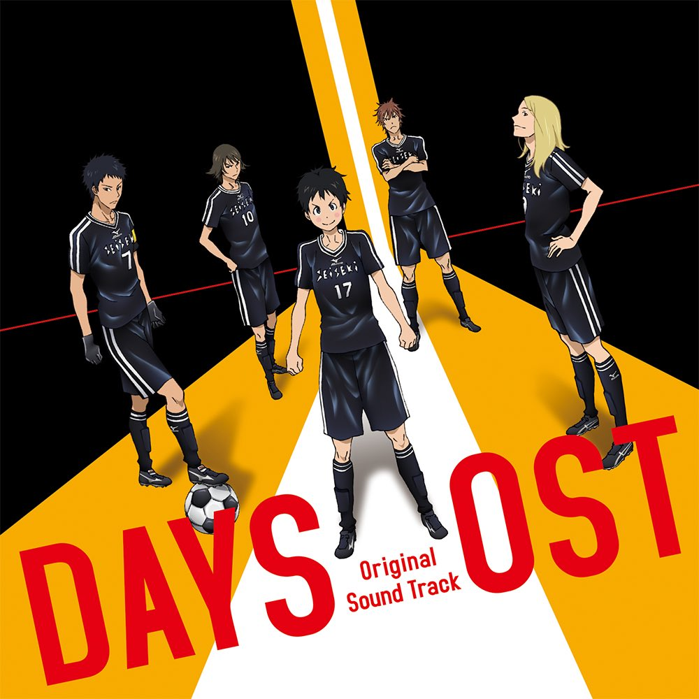 11月16日発売のサントラのジャケ写が届きました!CDページより詳細ご確認ください! #days_anime